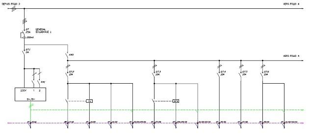 Bureau etude electrique Schéma armoire TGBT et Divisionnaire